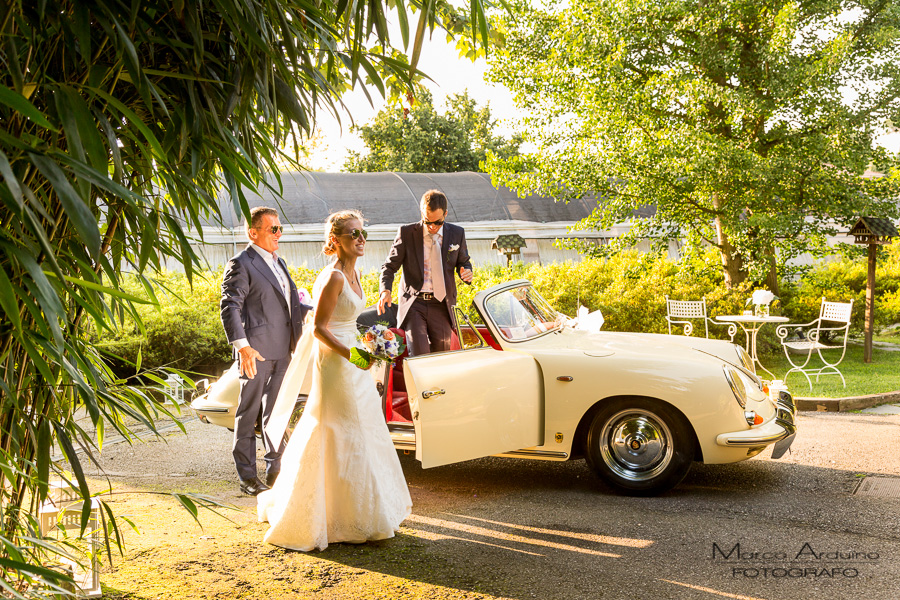 luxury wedding car lake maggiore italy