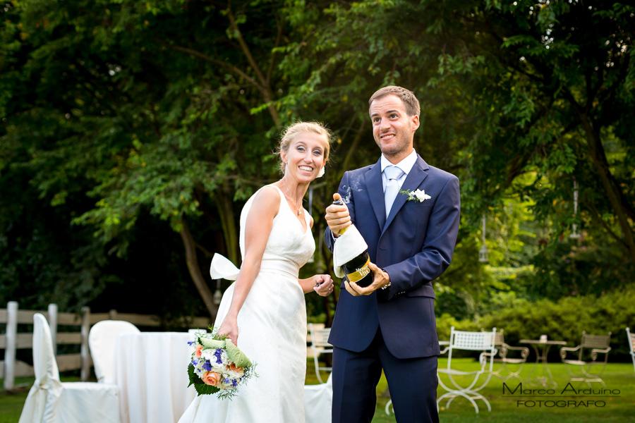wedding toast lake maggiore Italy