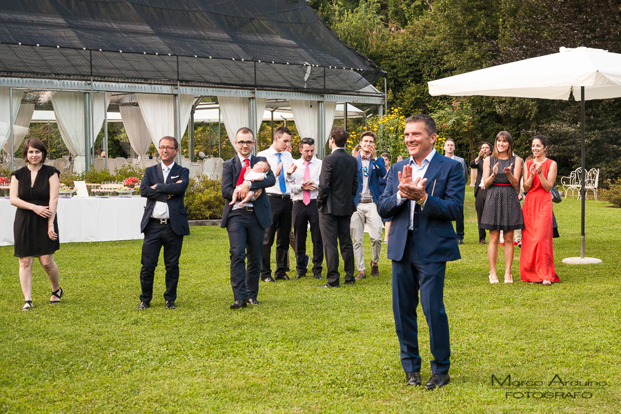 wedding reception lake maggiore Italy