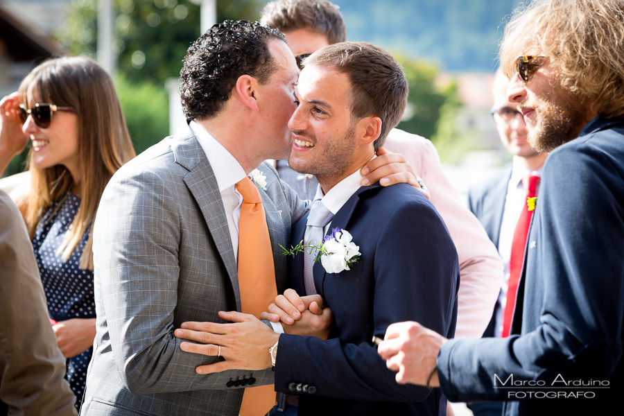 portrait groom lake maggiore italy