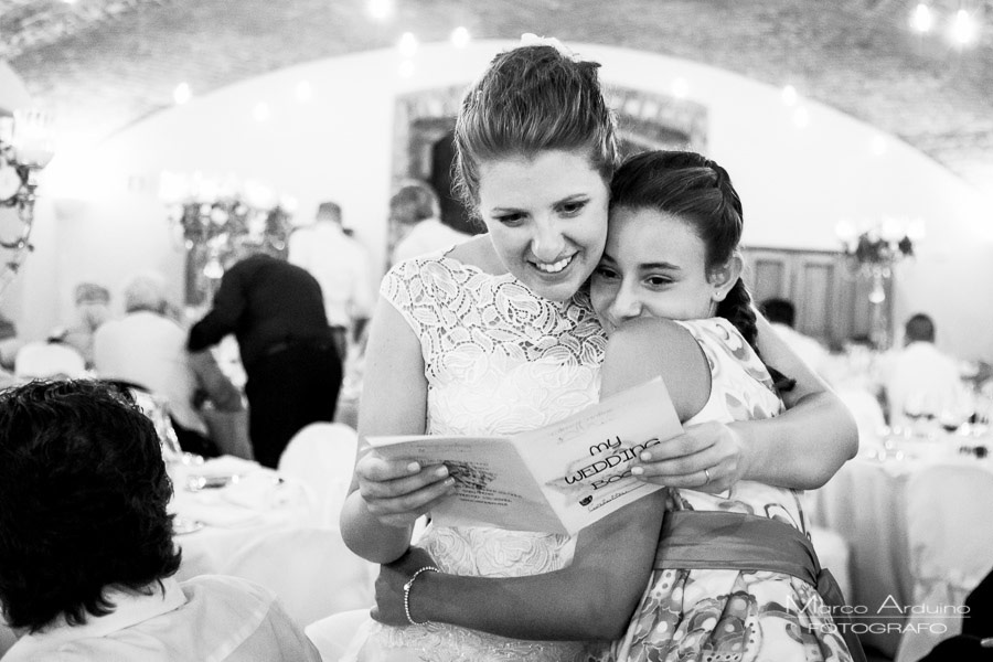 wedding reception in lombardy