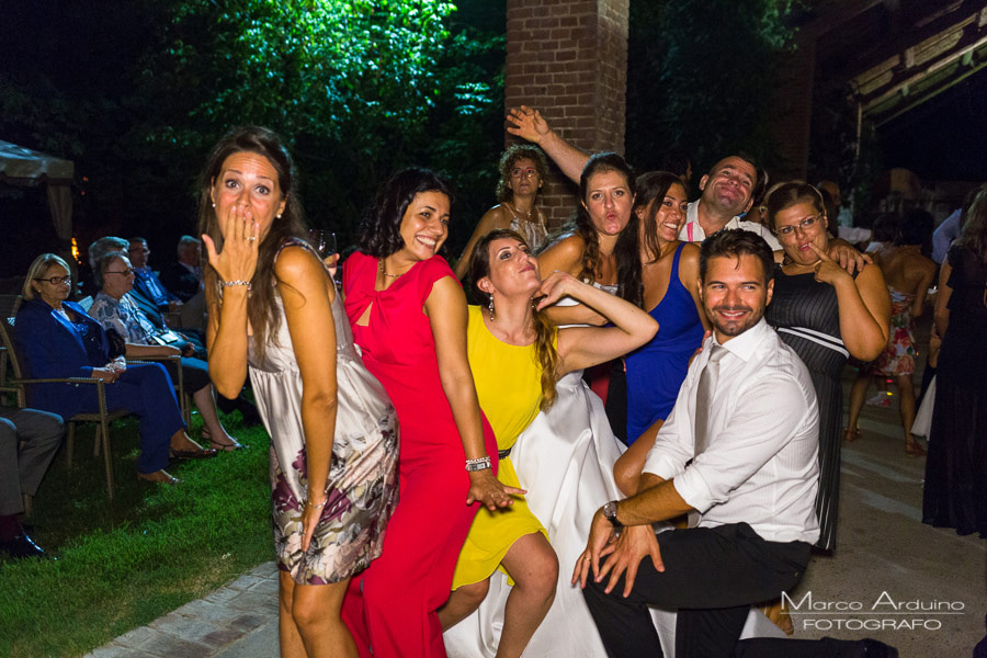 wedding party countryside lombardy