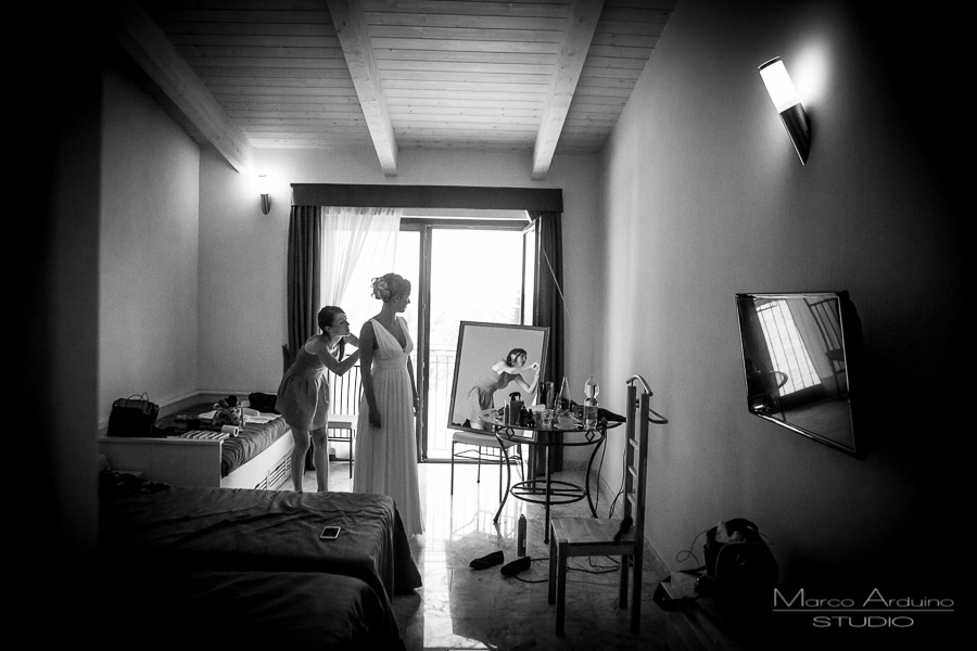bride getting ready langhe barolo piedmont italy