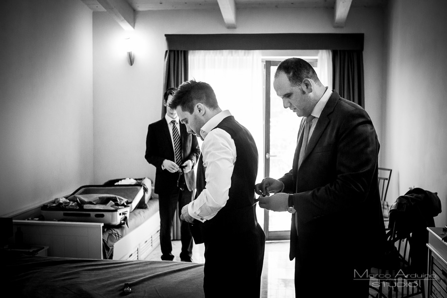 groom getting ready langhe barolo piedmont italy