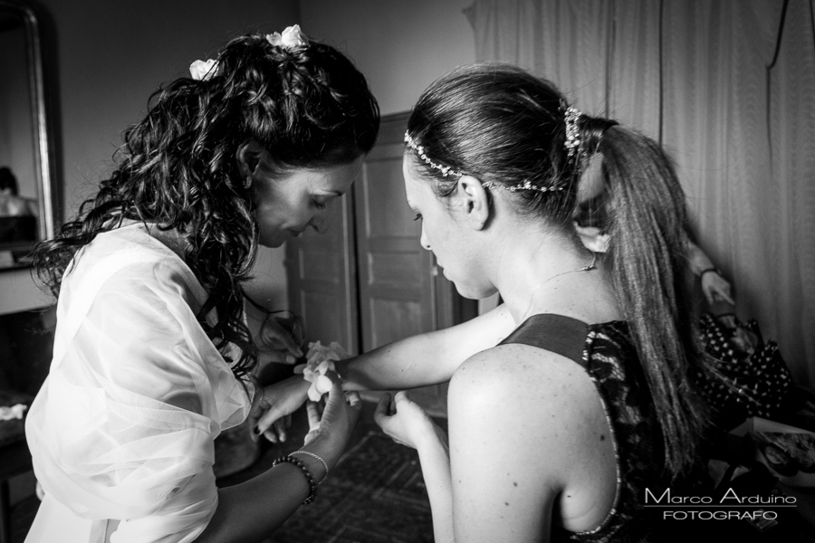 bride getting ready Torino Italy