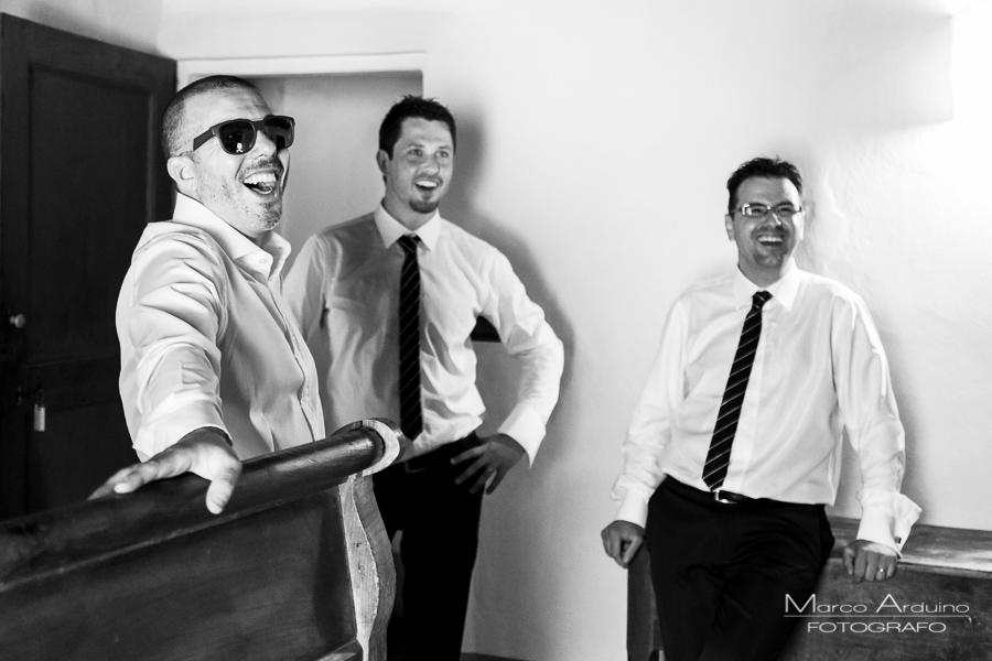wedding groom witnesses Torino Italy