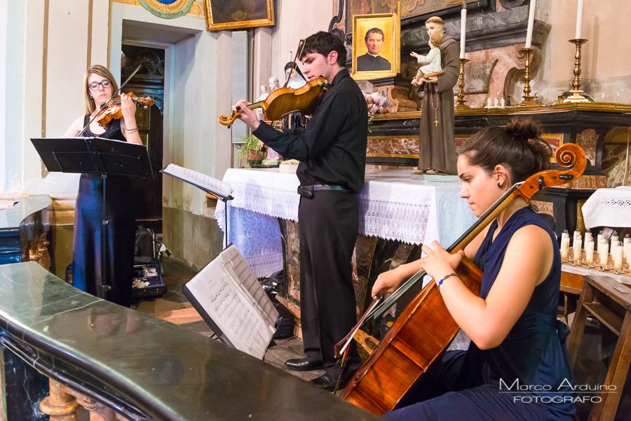 wedding music church San Sebastiano Po Italy