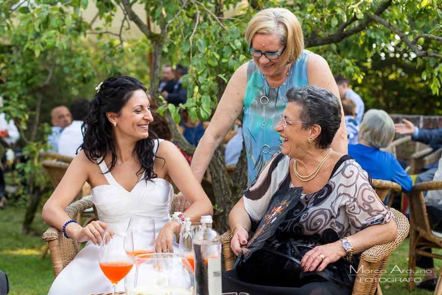wedding reception in country relais Torino Italy