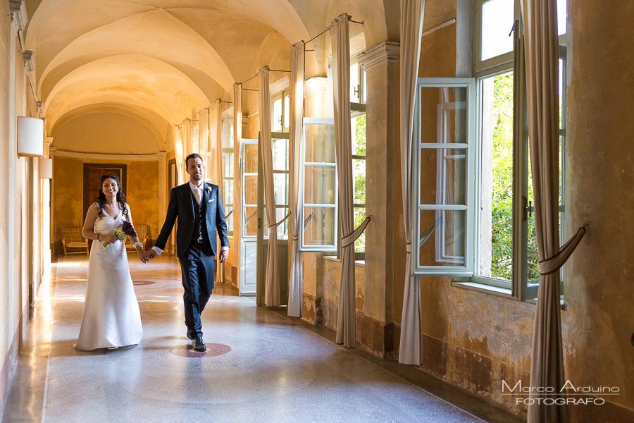 real wedding castle San Sebastiano Po Torino Italy