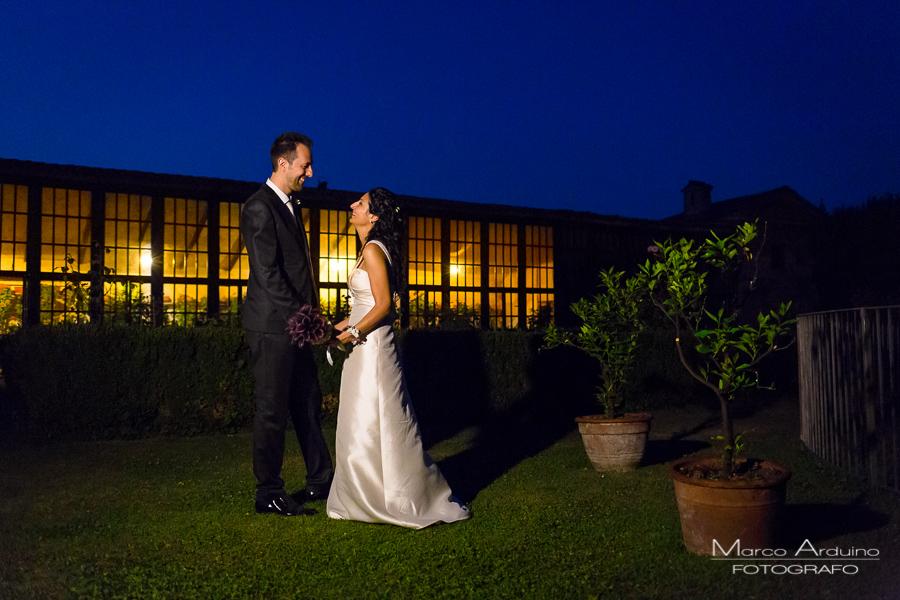 real wedding castle San Sebastiano Po Italy