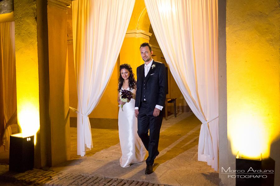 real wedding castle San Sebastiano Po Torino, Italy