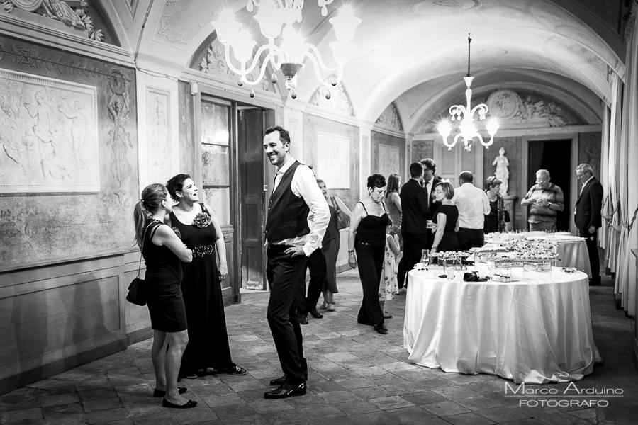 wedding party castle San Sebastiano Po Torino, Italy