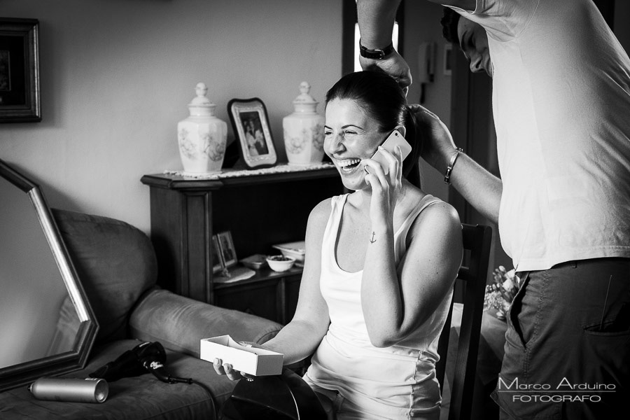 bride getting ready in piedmont