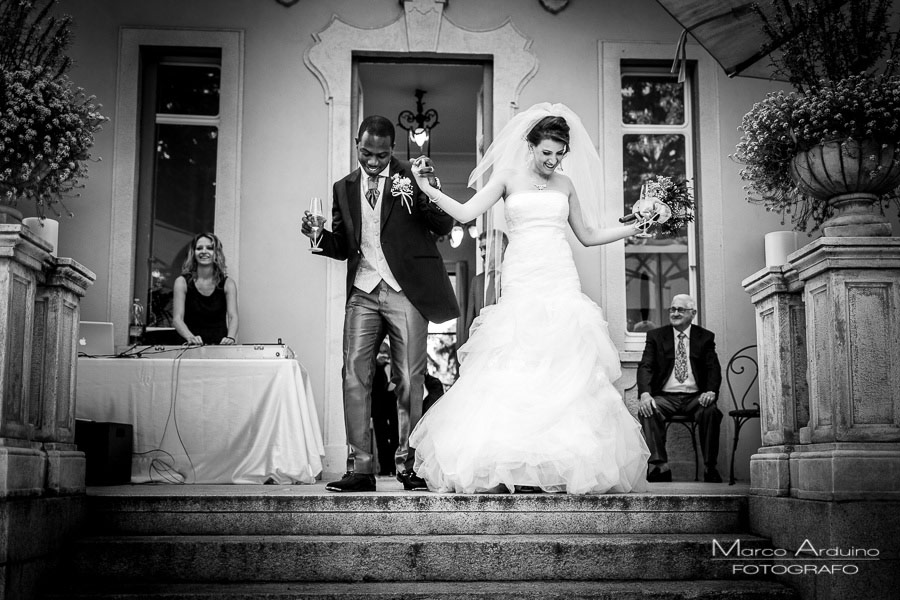 real wedding lake Como