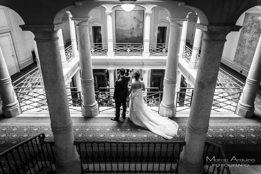 bride and groom portrait lake maggiore Italy