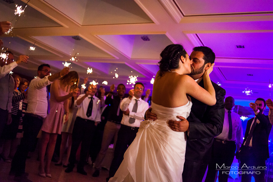 Wedding first dance wedding at grand hotel majestic lake maggiore Italy