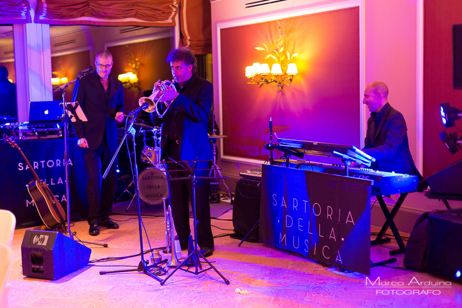 wedding music at grand hotel majestic lake maggiore Italy