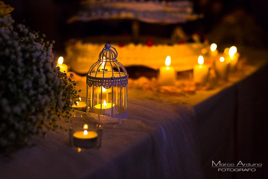 Romantic wedding cake detail lake maggiore Italy