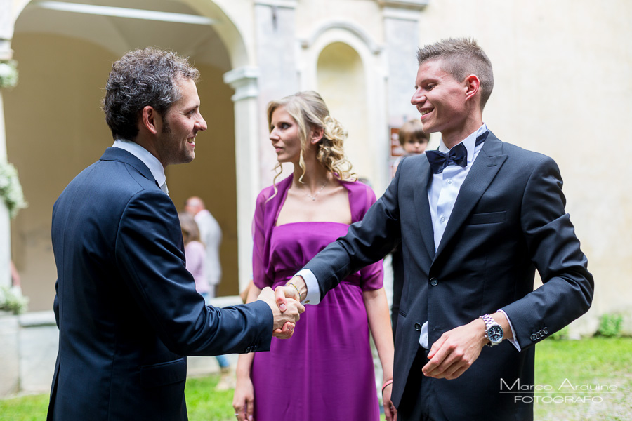 wedding ceremony lake Orta Italy
