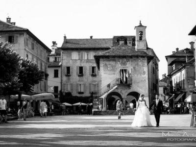 real wedding lake Orta Italy