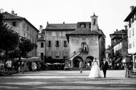 real wedding lake Orta Italy