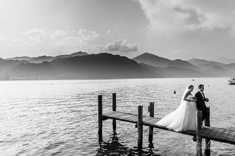 wedding on lake orta