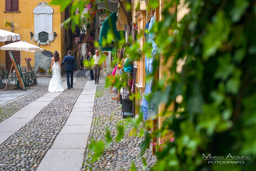 wedding photographer lake Orta italy