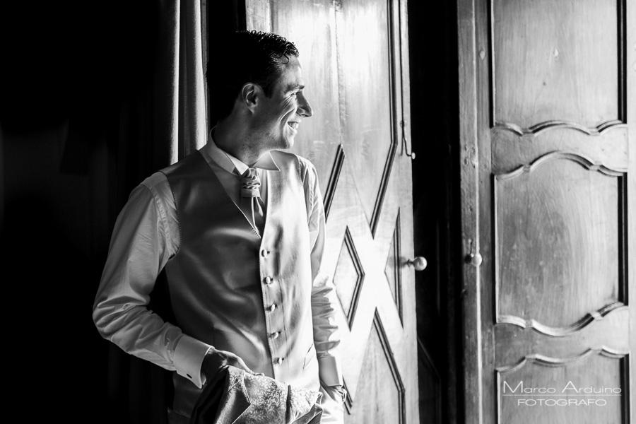 portrait groom stresa lake maggiore italy