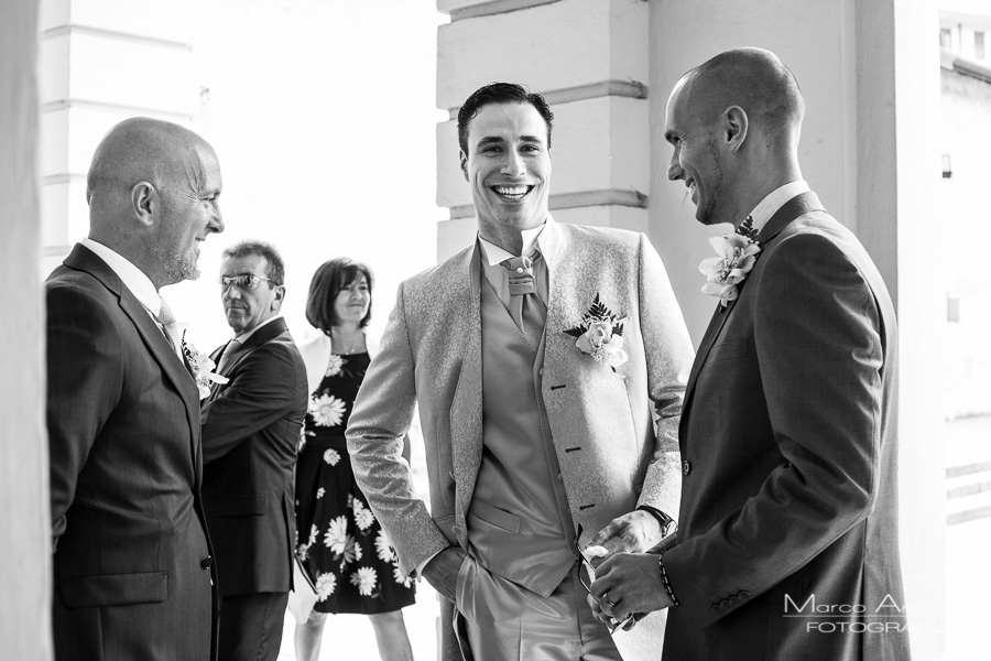 groom and guest lake maggiore italy