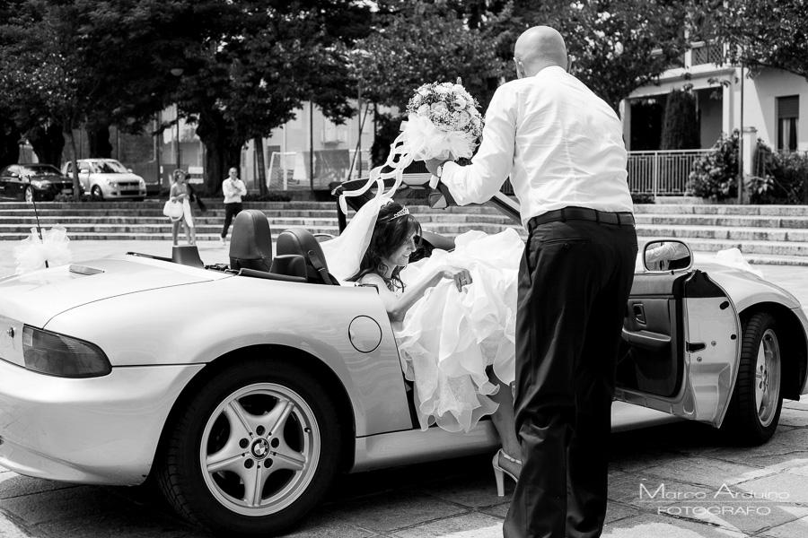 wedding car lake maggiore italy
