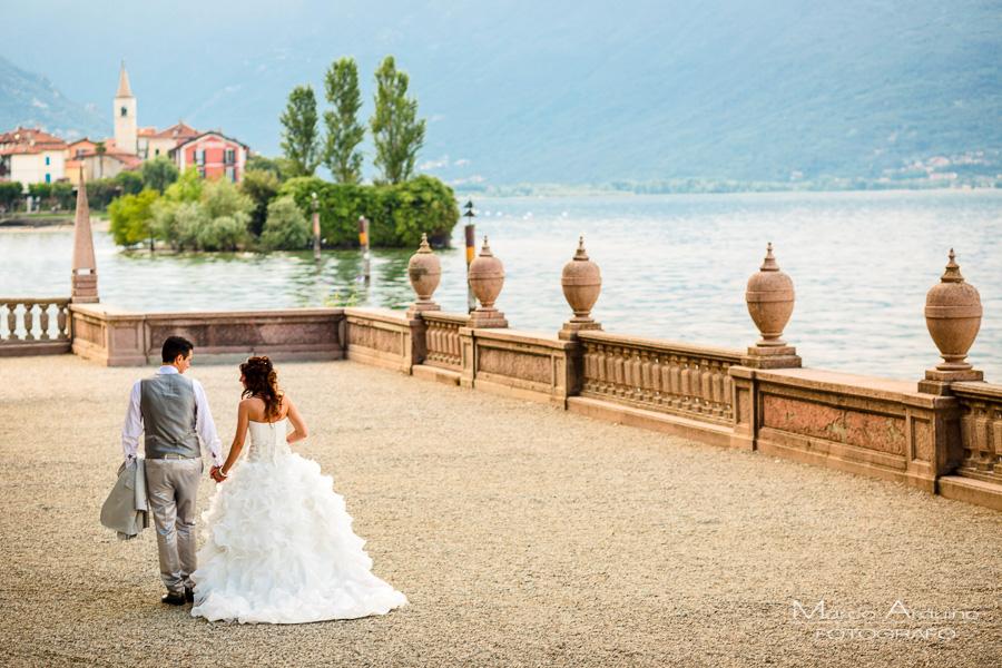 real wedding Borromean Islands lake maggiore italy
