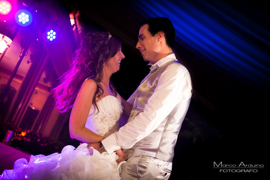 Wedding first dance villa Aminta Stresa lake maggiore Italy