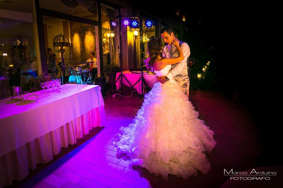 Wedding first dance villa Aminta Stresa lake maggiore Italy