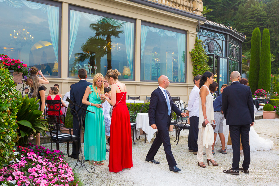 wedding reception villa Aminta stresa lake maggiore Italy
