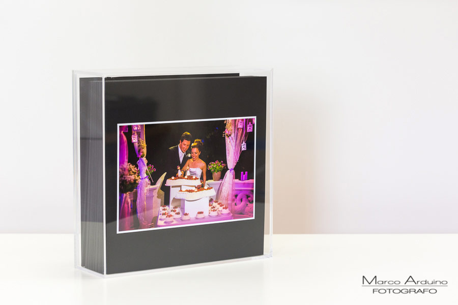 Fine art wedding box