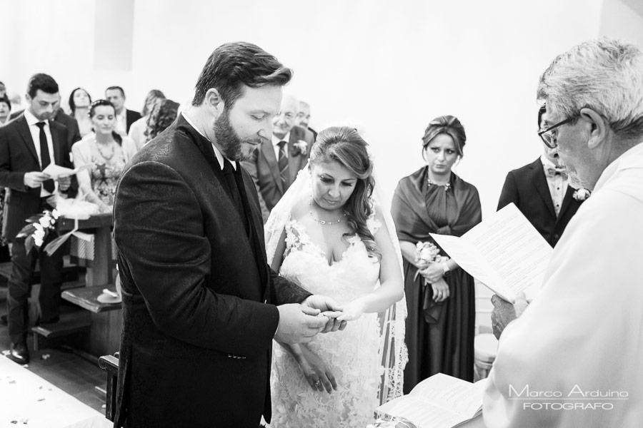 wedding ceremony Santo Spirito Abbey