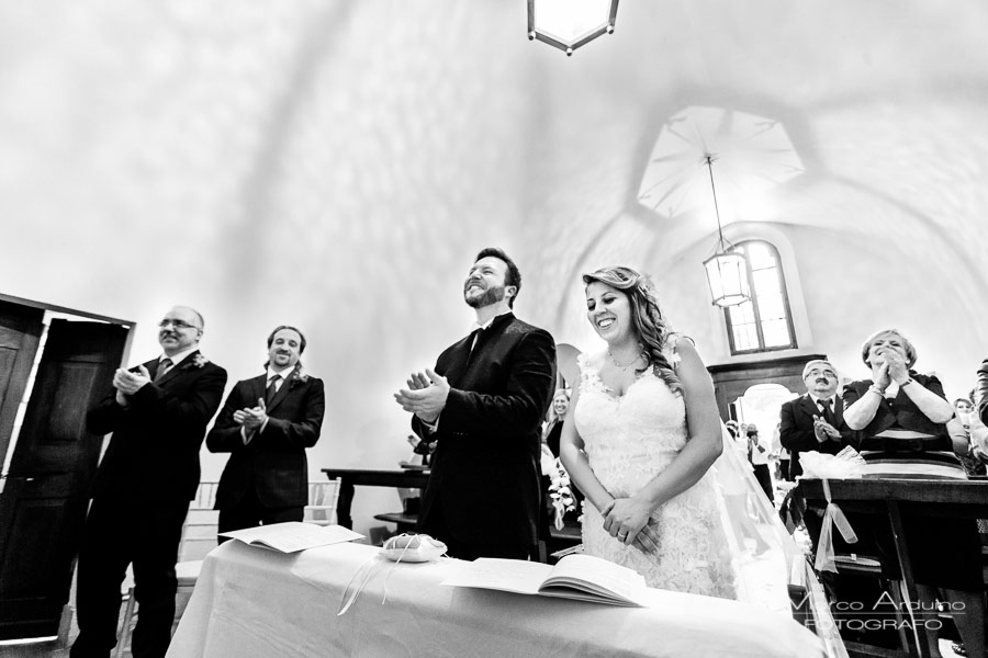 wedding ceremony Santo Spirito Abbey