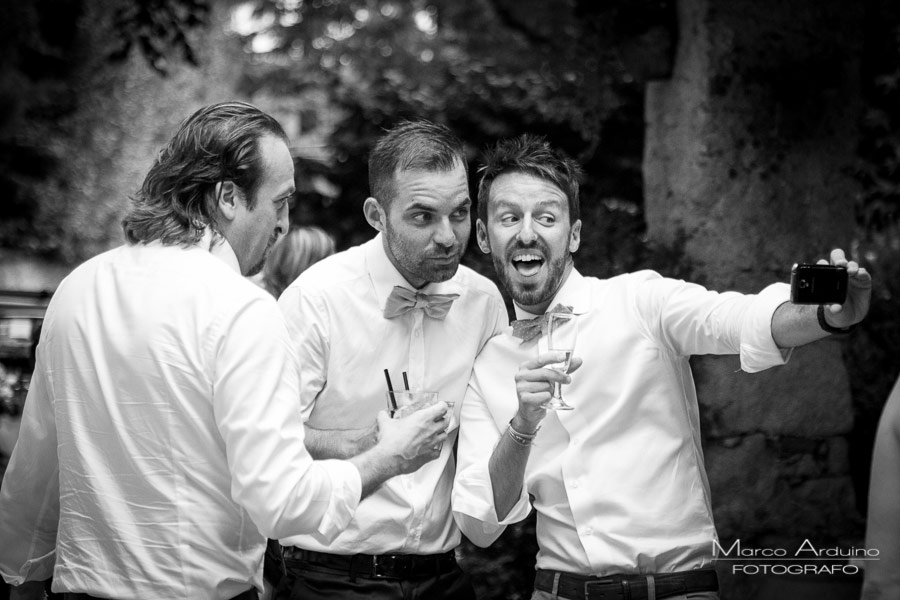 outdoor wedding reception in Santo Spirito Abbey- Villa Giannone