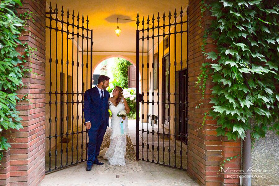 wedding photographic service in wedding in Santo Spirito Abbey