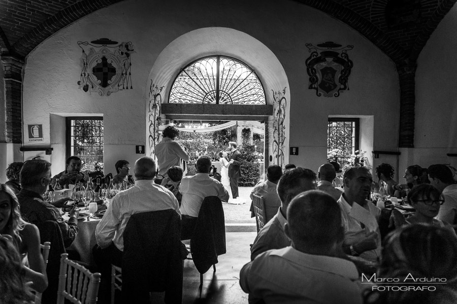 wedding reception in Santo Spirito Abbey- Villa Giannone