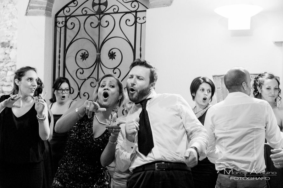 wedding party in Santo Spirito Abbey- Villa Giannone