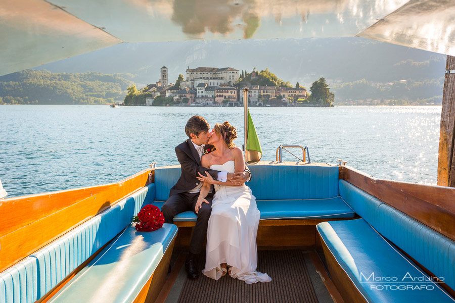 elopement on lake orta