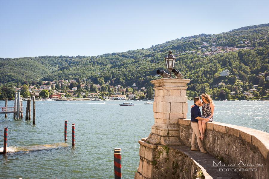 engagement session lake Maggiore isola bella borromean island Stresa