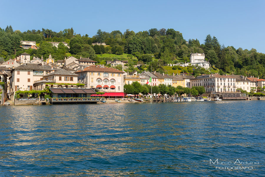 destination wedding on lake Orta