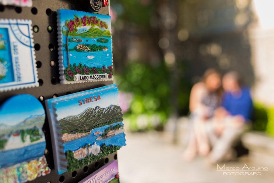engagement session lake Maggiore borromean island Stresa
