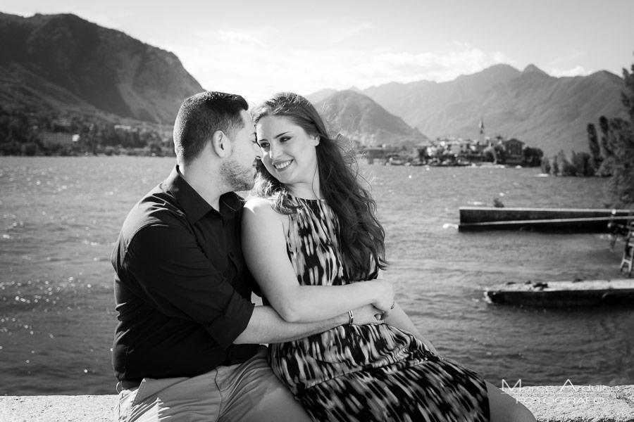 engagement session lake Maggiore isola bella borromean island verbania