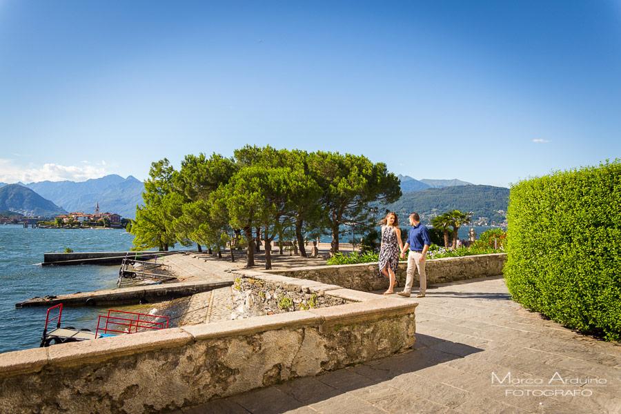 engagement session lake Maggiore isola bella verbania novara