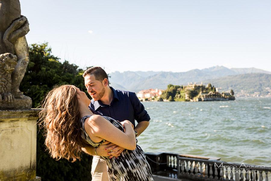 engagement lake Maggiore Stresa photographic service
