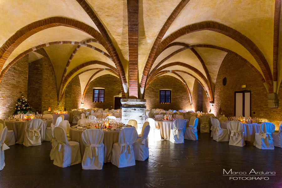 wedding in italian Abbey