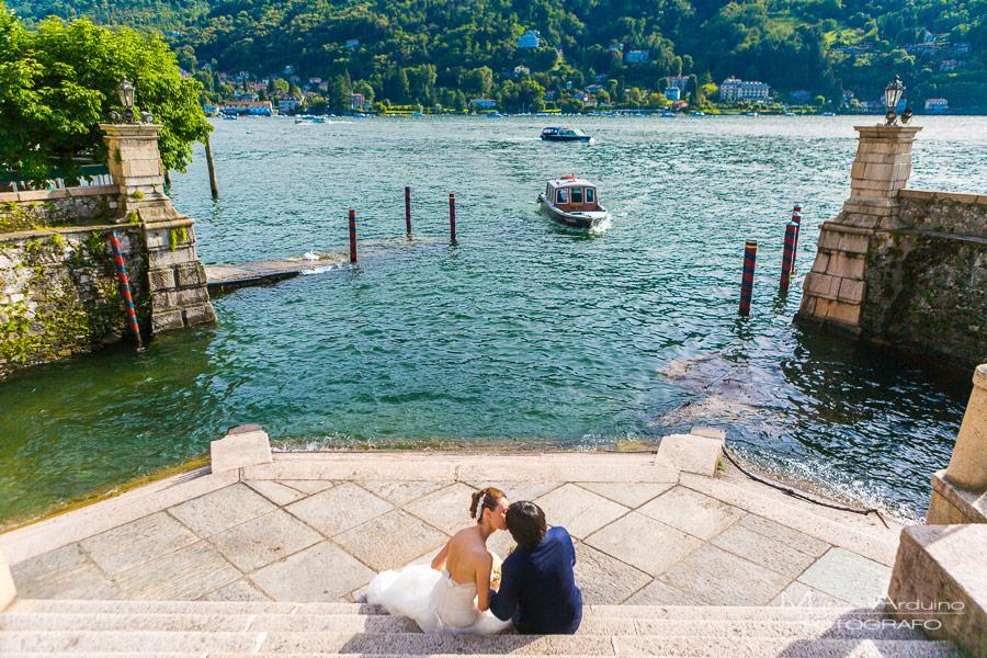 stunning wedding on lake maggiore